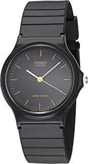 men's mq24 1e black resin watch