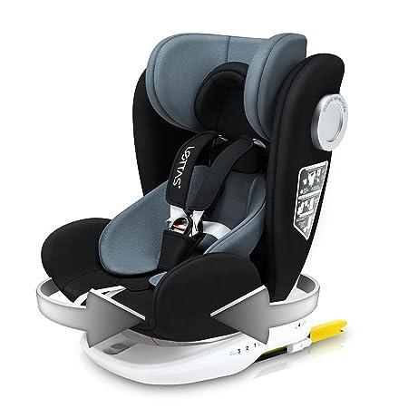 LETTAS Baby Autositz 360° drehbar Gruppe 0+1/2/3-sillitasparacoche.com/de/