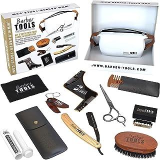 comprar comparacion ✮ BARBER TOOLS ✮ Kit/Set/Estuche de arreglo y cuidado de la barba y afeitarse