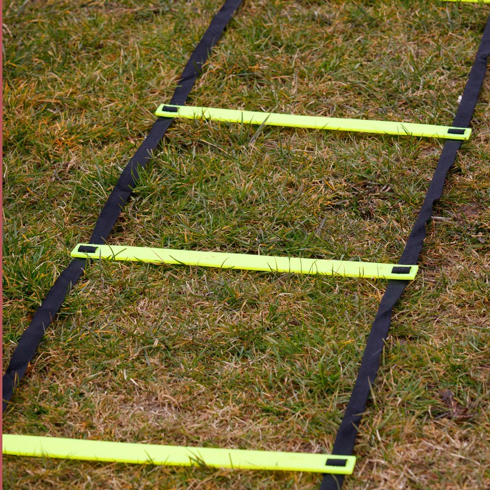 Escalera horizontal FH para entrenamiento de velocidad y ejercicios de agilidad de pies y piernas: Amazon.es: Deportes y aire libre