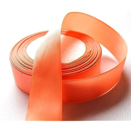 Maigr/ün CaPiSo 25m Satin Schleifenband 15mm breit Geschenkband Satinband mit Aufschrift Frohe Ostern