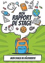 Mon rapport de stage: Stage de découverte