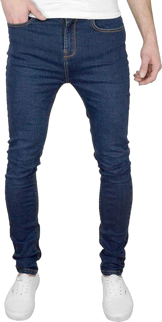 F&H Blade Mens Super Skinny Fit Stretch Denim Jeans