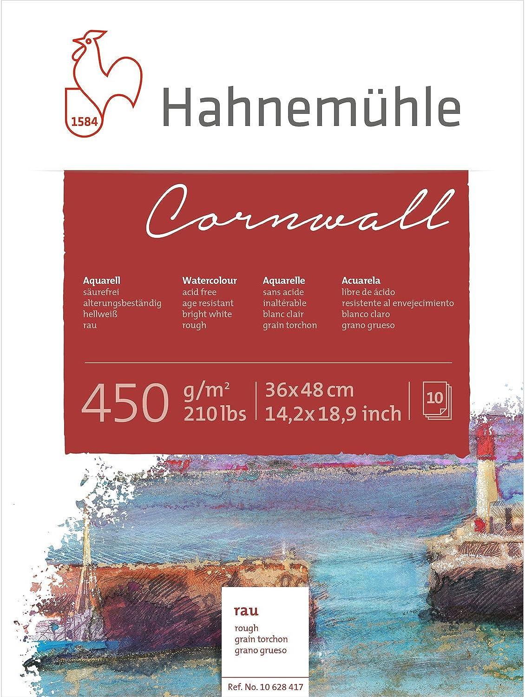 Aquarellblock Cornwall rau 450g m², 36x48cm, 10Blatt B004GCW9EI  | Preisreduktion