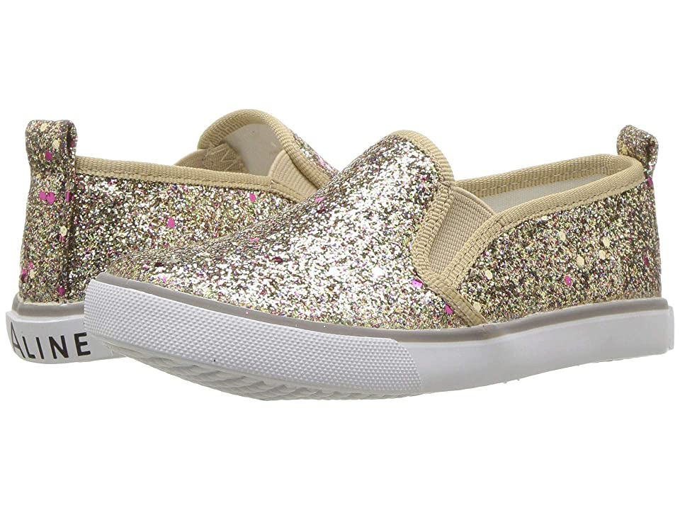 Amiana 6-A0864 (Toddler/Little Kid/Big Kid/Adult) (Gold Circle Glitter) Girls Shoes