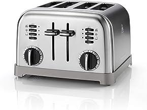 Cuisinart CPT180E Grille-pain 4 tranches, acier inoxydable brossé