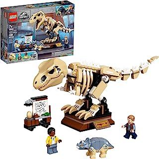 LEGO Jurassic World T. rex Dinosaur Fossil Exhibition...
