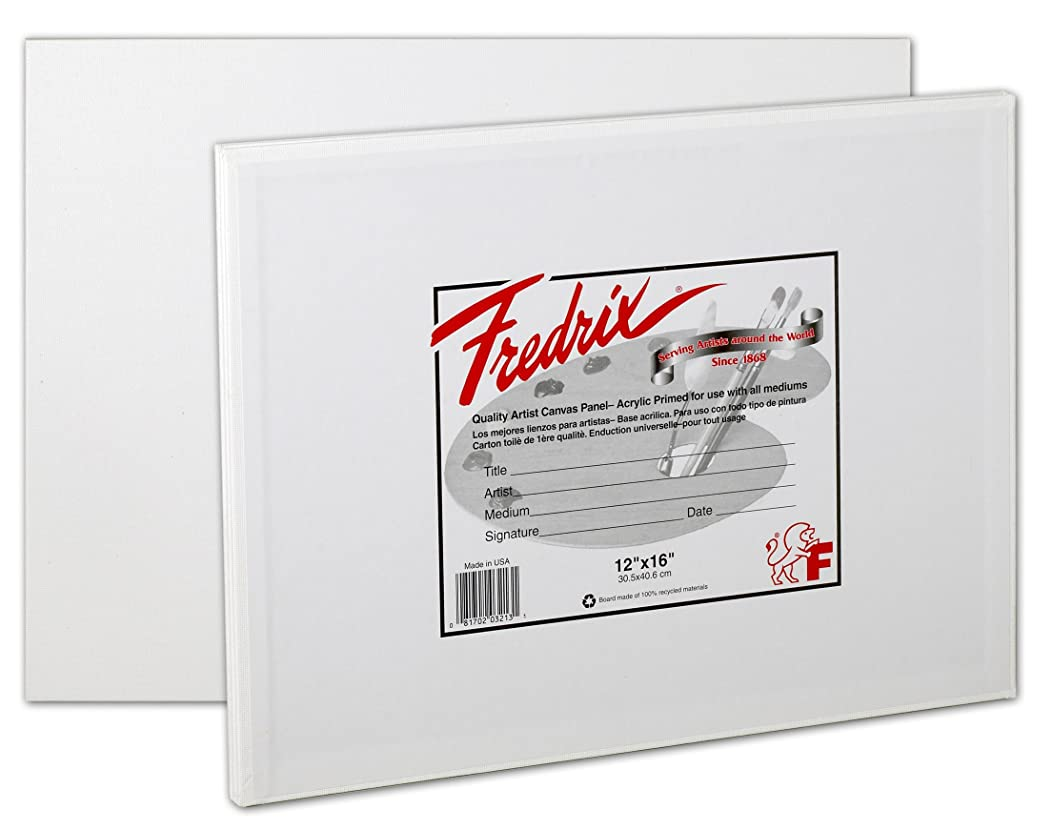 Fredrix 3221 Canvas Panels, 20 by 30-Inch, 2-Pack