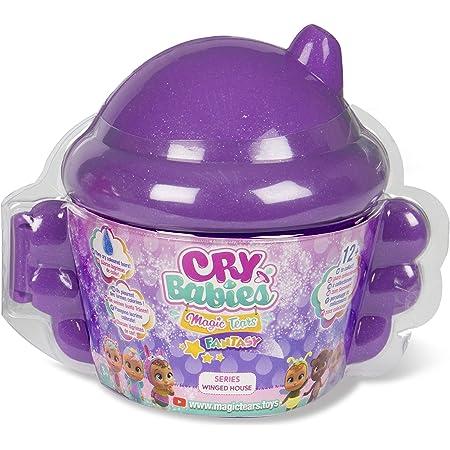 Cry Babies Magic Tears Winged House, Color Rosa (IMC Toys 90859IM)