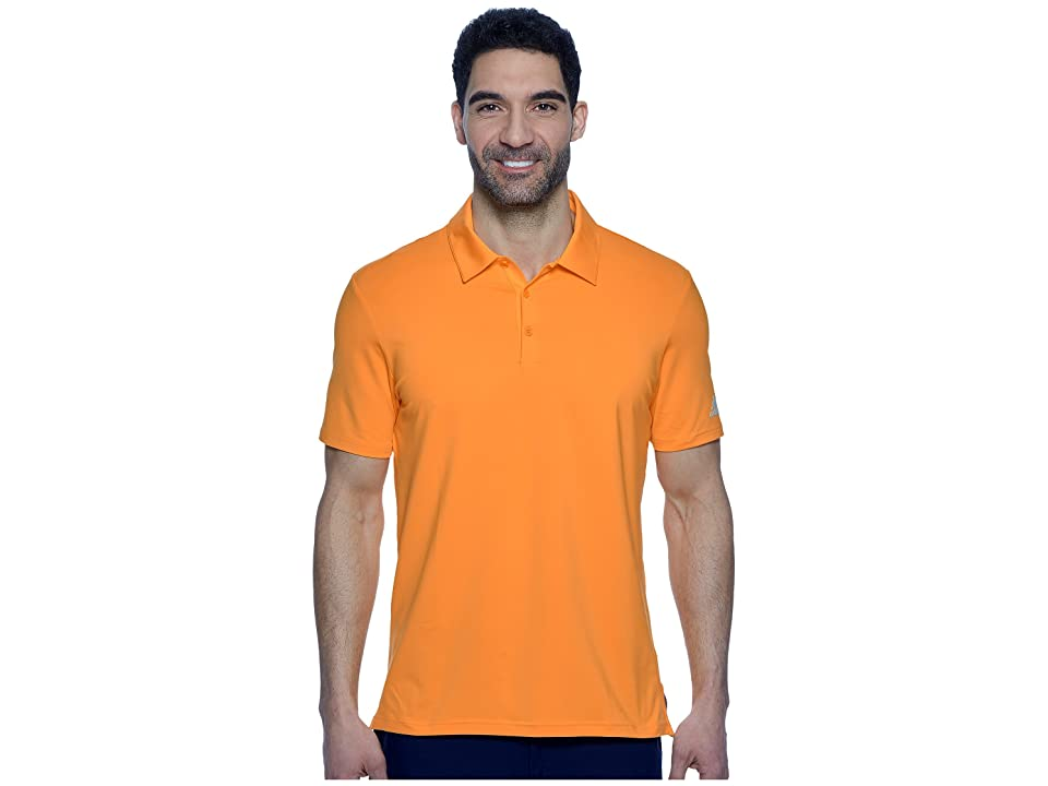 adidas Golf Ultimate Solid Polo (Real Gold) Men