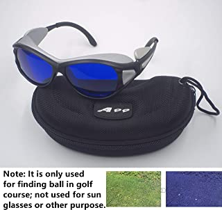 A99 Golf E-2 Ball Finder Glasses (Silver Frame) - Only Used in Golf Course
