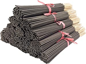 Cinnamon Type Most Exotic Incense Sticks. Approx 85 to 100 Sticks Per Bundle, Length - 10.5 Inches, Each Natural Stick Burns for 45 mins to 1 Hour Each. Long Lasting. Guarantee 100% Pure