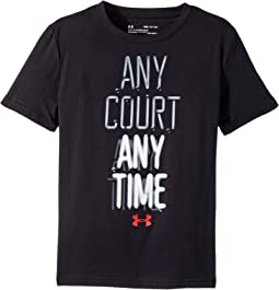 Under Armour Kids - Any Court Any Time Short Sleeve Tee (Big Kids)