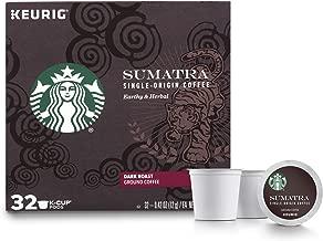 Starbucks Sumatra Dark Roast Single Cup Coffee for Keurig Brewers, 1 box of 32 (32 total K-Cup pods)