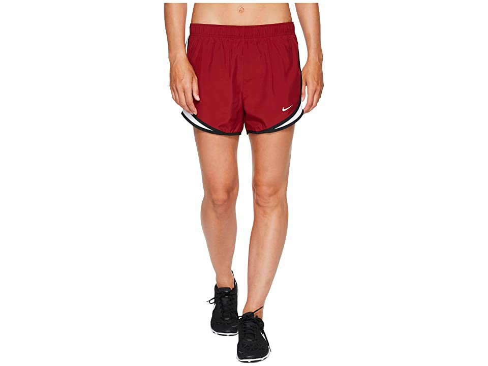 Nike Dry Tempo Short (Team Red/White/Black/Wolf Grey) Women