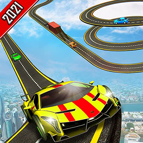 Super Stunt Craziest Impossible Mega Ramp Pistas de carreras verticales CR Stunt Car Driving Simulator - Offline Spiral Car Stunt Race 3D Games 2021 - Fast Drift Racing Adventure Fun Game - SUV Ferrar