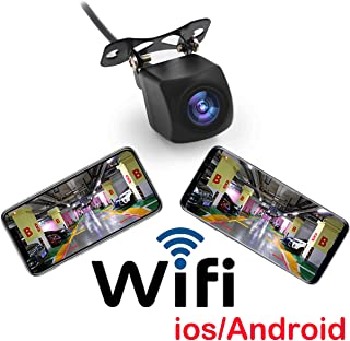 Fumei HD 720p WiFi Camera Wireless Backup Camera for Car with Smart APP Intelligent Video Recording/Sharing Forward-Lookin...