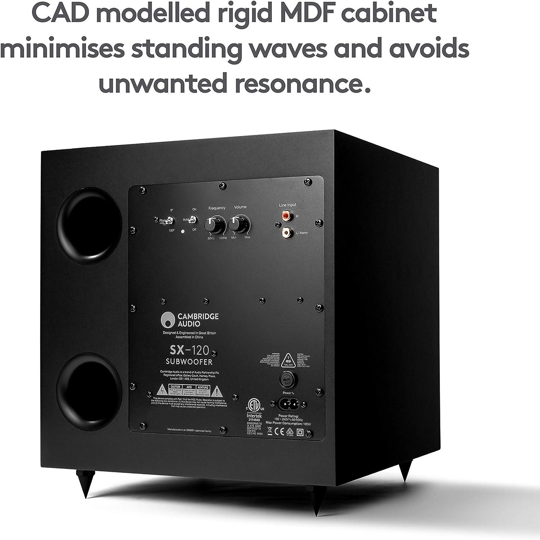 Buy Cambridge Audio SX120   70 Watt Active Home Theater Subwoofer with 8  Inch Woofer (Matte Black) Online in Taiwan. B00ELMTX1U
