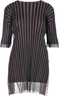 PLEATS PLEASE ISSEY MIYAKE Luxury Fashion Womens PP86JT73314 Black Dress | Season Outlet
