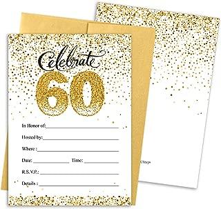 Best 60th birthday evite invitations Reviews