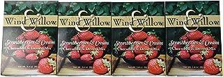 Wind and Willow Strawberries & Cream Cheeseball & Dessert Mix - 3.4 Ounce (4 Pack)