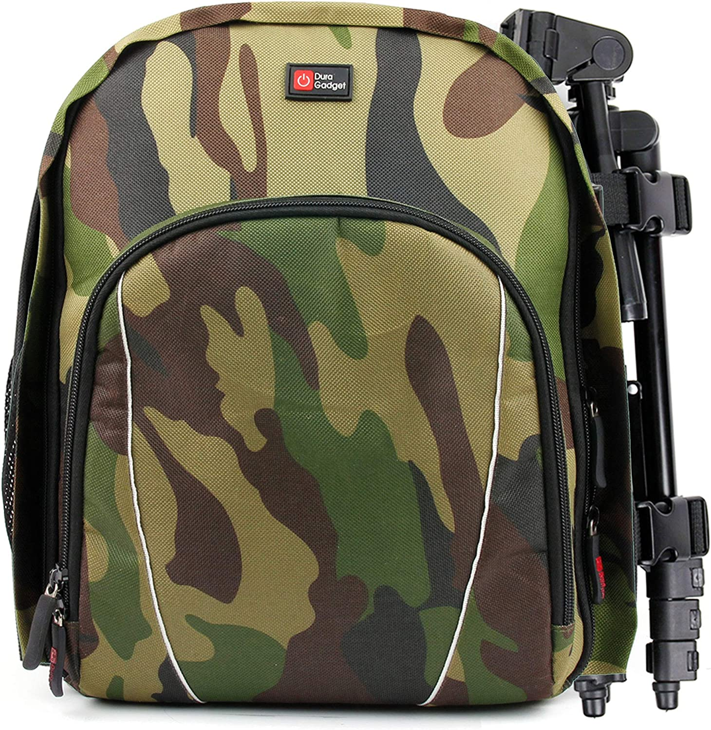 DURAGADGET Camouflage Water-Resistant Max 40% Rapid rise OFF Customizable Backpack with