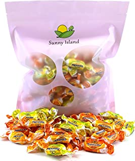 Sunny Island Bulk - Perugina Sorrento Spicchi Italian Hard Candy, Citrus Assorted Flavors, Gluten Free Candy, 2 Pounds Bag