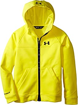 UA Coldwear® Infrared Softshell Hooded Jacket (Big Kids)