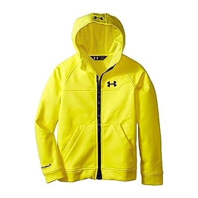 Under Armour Kids UA Coldwear(r) Infrared Softshell Hooded Jacket (Big Kids) (Sun Bleached) Boy