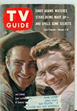 1961 TV Guide Feb 4 Clint Eastwood and Eric Fleming of Rawhide - Kansas City Edition Very Good to Excellent (4 out of 10) Used Cond. by Mickeys Pubs