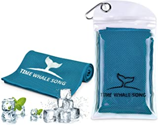 TIME Whale Song Cooling Towel, 40