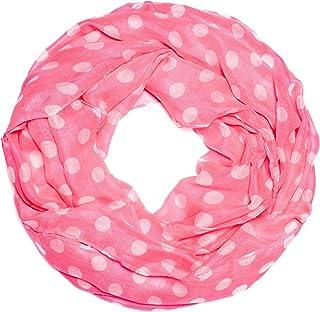 Leichter Rundschal Loop Schal Schlauchschal gestreift Streifen pink rosa