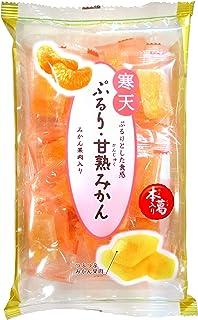 津山屋製菓 ぷるり・甘熟みかん 180g ×12袋