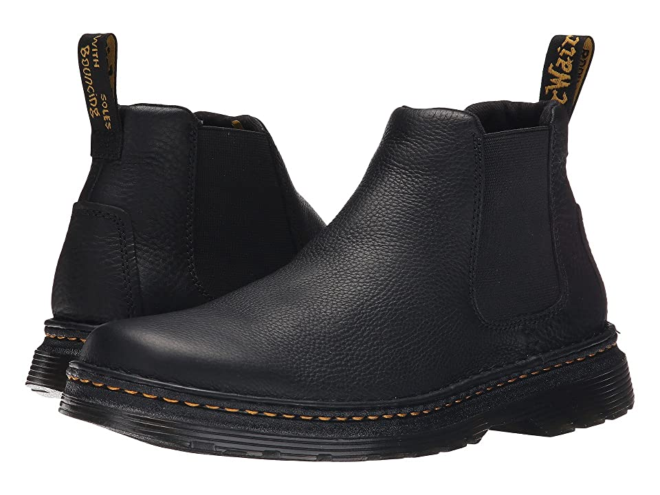 Dr. Martens Oakford Chelsea Boot (Black Grizzly/Hi Suede WP) Men