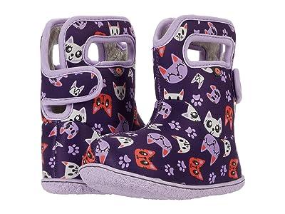 Bogs Kids Baby Bogs Kitties (Toddler) (Purple Multi) Girl