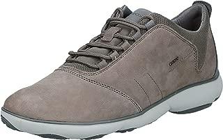 Geox U NEBULA C - NBK GOAT LEA, Men's Sneakers, Beige (Stone C9007), 10 UK (44 EU)