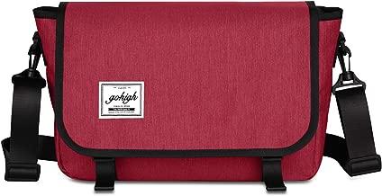 Classic Messenger Bag Unisex Canvas Laptop Shoulder Bags for School Traveling