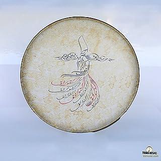 نقاشی فارسی دف ، دف ، دف ، اربان ، بندر با کیس نرم