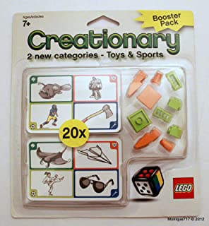 Lego Creationary Game Booster Pack