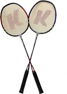 Kakss Crown Badminton Racquet, Pack of 2