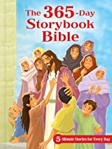 The 365-Day Storybook Bible, Padded: 5-Minute Stories for Every Day