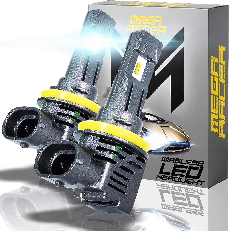 Popular brand in the world Mega Racer Wireless H11 H8 H9 Japan's largest assortment H16 Watt 50 Bulbs LED - Headlight