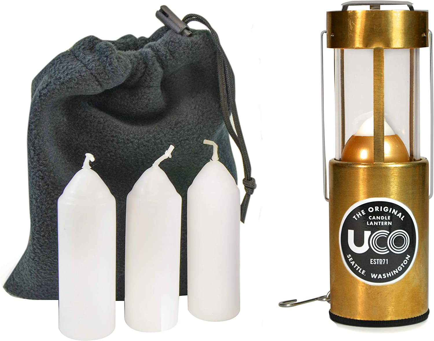 UCO Original Candle Lantern Value Tampa Mall Pack Candles Challenge the lowest price of Japan and 3 with Storag