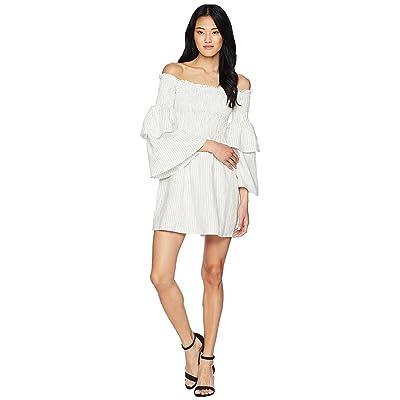 Bardot Nuno Shirred Dress (Stripe) Women
