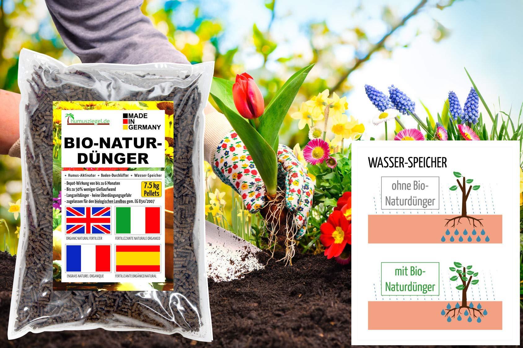 Humusziegel Novihum Humusbooster Bodenaufwertung 1:100 Konzentrat 2 kg