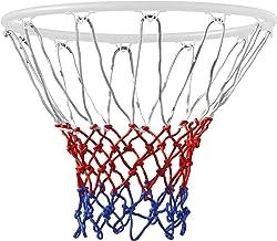 TRIXES 12 Loop Basketball Net RedWhiteBlue Nylon