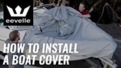Trailerite Semi-Custom Boat Cover for Day Cruiser Boats with Inboard//Outboard Motor Motor Hood not Included