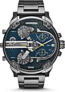 Diesel Men's DZ7331 Mr Daddy 2.0 Gunmetal-Tone Stainless Steel Watch