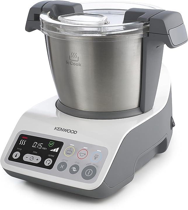 Robot da cucina con funzione cottura kenwood ccc200wh kcook