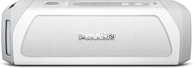 Furrion LIT Portable Wireless Bluetooth Speaker, Waterproof IPX7, Stereo Pairing, Indoor/Outdoor with 15 Hours Playtime (White)